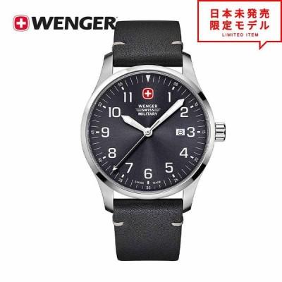 WENGER ウェンガー メンズ 腕時計 リストウォッチ 019041210C ブラック 海外限定 時計 日本未発売 当店1年保証 最安値挑戦中!