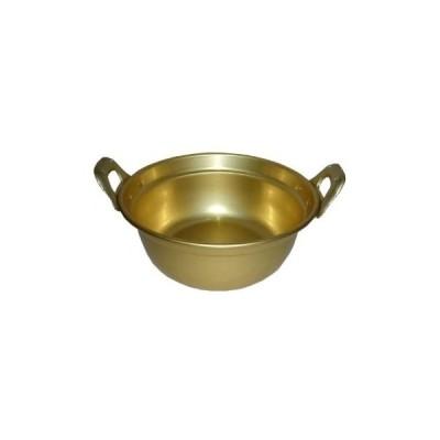 前川金属 平手段付鍋36cm