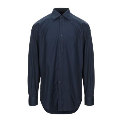 XACUS シャツ ダークブルー 41 コットン 100% シャツ