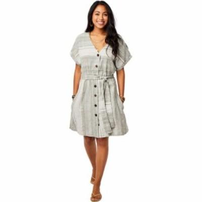 カーヴデザイン Carve Designs レディース ワンピース ワンピース・ドレス Willow Dress Moss Stripe