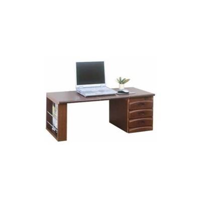 天然木ワンタッチ文机 折りたたみ机 座卓 PCデスク 勉強机