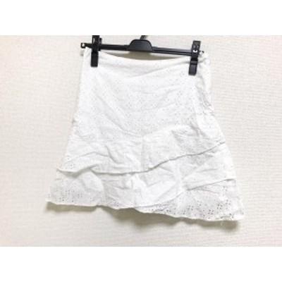 アプワイザーリッシェ Apuweiser-riche スカート サイズ2 M レディース 美品 アイボリー CRUISE/レース【中古】