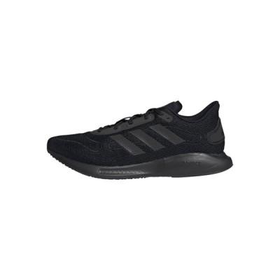 アディダス シューズ メンズ ランニング GALAXAR RUN M - Neutral running shoes - black