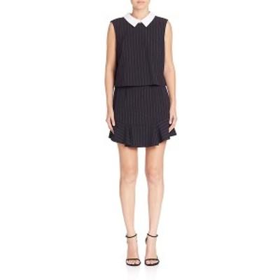 ビーシービージーマックスアズリア レディース ワンピース トップス BCBGMAXAZRIA Collared Shift Dress black