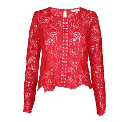 レディース 衣類 トップス Karina Grimaldi Womens Avenue Lace Top ブラウス&シャツ