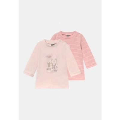 ジャッキーベイビー キッズ ファッション LANGARMSHIRT GIRLS 2 PACK - Long sleeved top - pink
