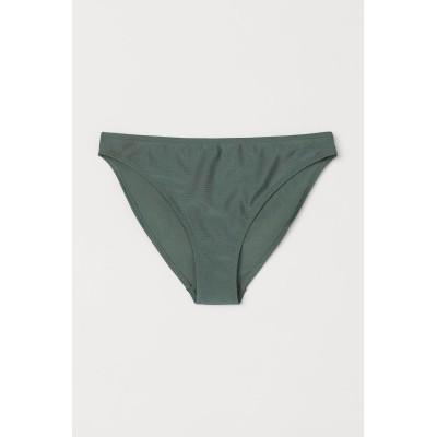 H&M - ビキニボトム - グリーン