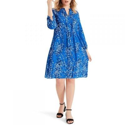 スタジオ8 Studio 8 レディース ワンピース ワンピース・ドレス Emmie Printed Dress Blue