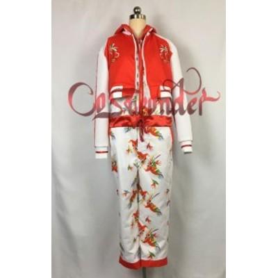 高品質 高級コスプレ衣装 ももクロ 風 ザ・ゴールデンヒストリー タイプ レッド オーダーメイド コスチューム ハロウィン
