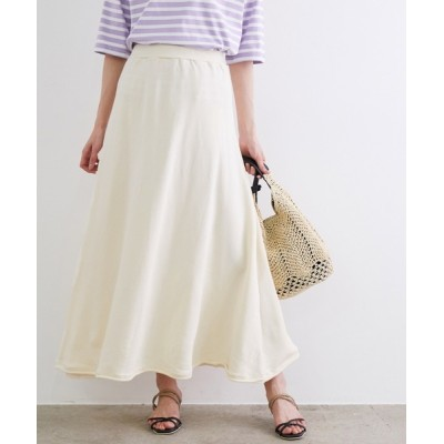 ROPE' PICNIC / ミニ裏毛フレアマキシスカート WOMEN スカート > スカート