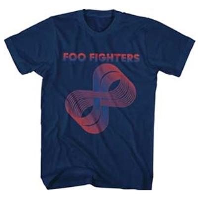 Foo Fighters/FOO FIGHTERS LOOPS LOGO MENS SOFT T-SHIRT Lサイズ[847748088064]