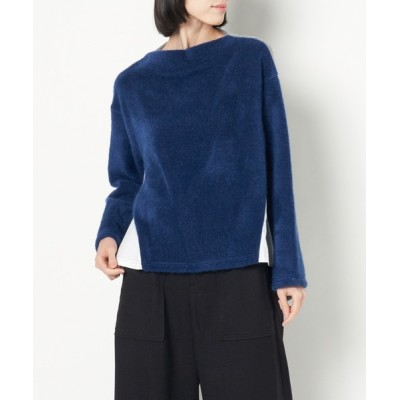 GENERATION by H.P.FRANCE / oops/《doll up oops》モックネックドッキングプルオーバー WOMEN トップス > その他トップス