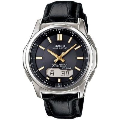 腕時計 電波 ソーラー 紳士用 ウォッチ 黒 WVA‐M630L‐1A2JF〔代引不可〕