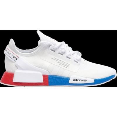 アディダス adidas Originals メンズ スニーカー シューズ・靴 NMD R1.V2 White/White/Lush Red