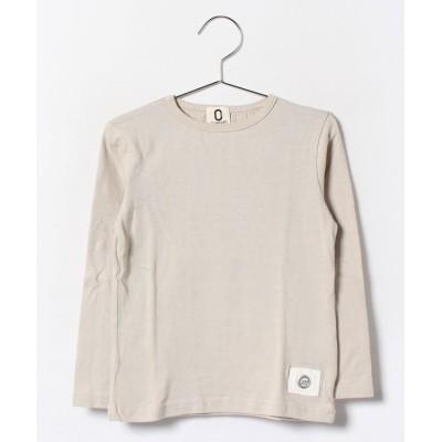 (ZERO standard/ゼロスタンダード)ロングTシャツ/ ベージュ
