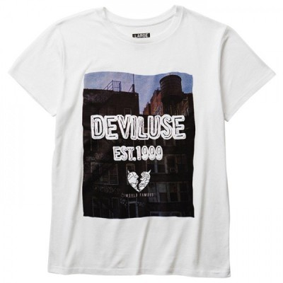 Deviluse Brooklyn T-shirts(White)