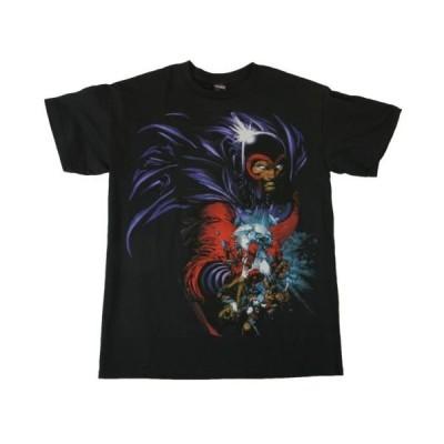 Tシャツ トップス シャツマーベルMARVEL X-メンズ MAGNETO MAGNET BALL アダルト シャツ S-2XL