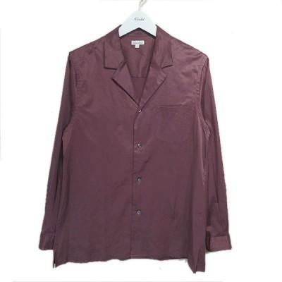 steven alan 「CU/CTN STRC TRAD OPENCOLLAR」 オープンカラーシャツ ワインレッド サイズ:L (栄店) 2009
