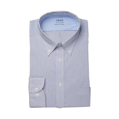 アイゾッド メンズ シャツ トップス Regular Fit Stretch Cool FX Cooling Collar Dress Shirt