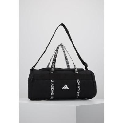 アディダス メンズ ショルダーバッグ バッグ 4ATHLTS ESSENTIALS 3STRIPES SPORT DUFFEL BAG - Sports bag - black/white black/white