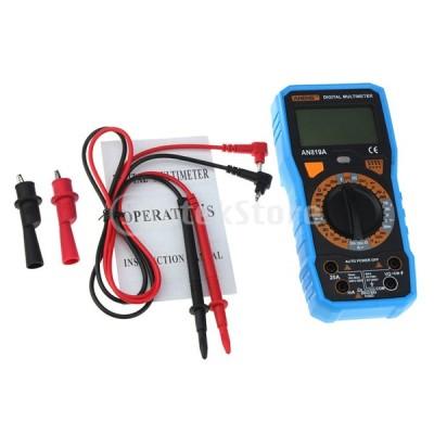 オートレンジデジタルマルチメーターLCDディスプレイ電圧計テスターPCBパネル
