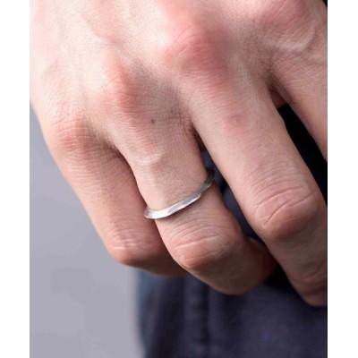 ability / GILD ギルド / Undulate narrow ring シルバー925 ナローリング 指輪 / G211-RI01 MEN アクセサリー > リング