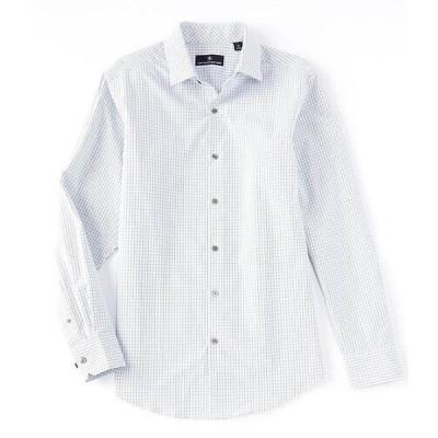 ハート シャフナー マルクス メンズ シャツ トップス Long Sleeve Texture Multi Check Sportshirt