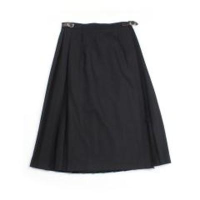 オニールオブダブリンオニールオブダブリン キルトスカート ラッププリーツスカート 台形スカート O'NEIL OF DUBLIN 5067 10(M/L) BLACK SOLID(BLK)