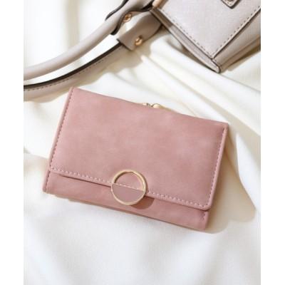 florist / 大容量ハーフラウンドモチーフのスクエアがま口財布 WOMEN 財布/小物 > 財布