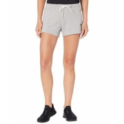 リーボック レディース ハーフパンツ・ショーツ ボトムス Training Essentials Shorts Medium Grey Heather