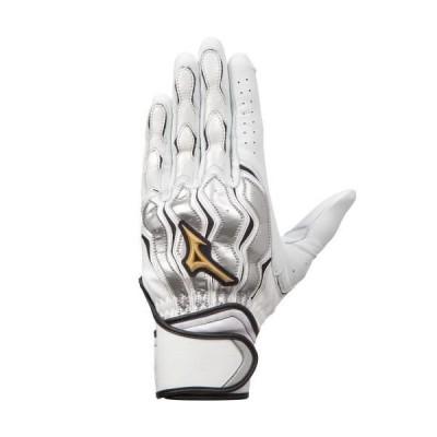 ミズノ(MIZUNO) ミズノプロ モーションアークライン バッティング手袋(両手用)  1EJEA21001