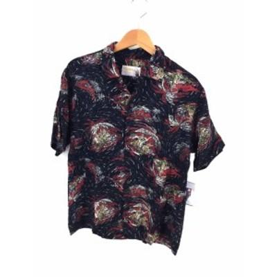 イオラニ IOLANI アロハシャツ サイズ表記無 メンズ 【中古】【ブランド古着バズストア】