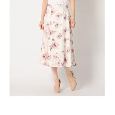 大花柄ハギースカート