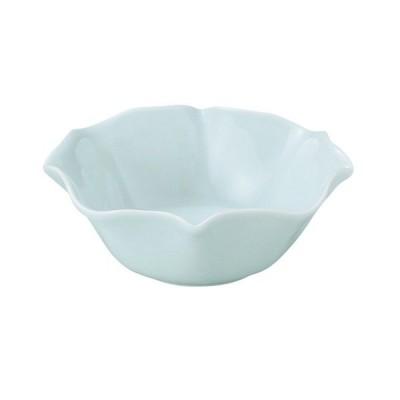 小鉢 和食器 / 花笑み 青白 10.5cmボウル 寸法: D-10.3 H-3.8cm