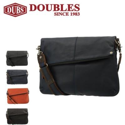 ダブルス ショルダーバッグ メンズ 1656 DOUBLES | 牛革 本革 レザー