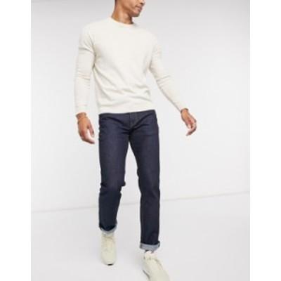 リーバイス メンズ デニムパンツ ボトムス Levi's 511 slim fit Rajah jeans in dark indigo Blue