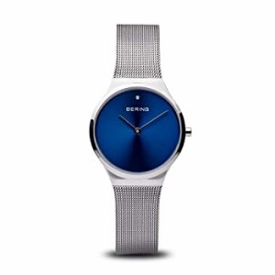 BERING Time | Women's Slim Watch 12131-007 | 31MM Case | Classic Collection | Stainless Steel Strap | Scratch-Resistant Sapphire