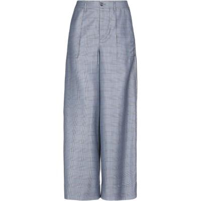 ガニー GANNI パンツ ブルー 36 シルク 52% / ウール 48% パンツ