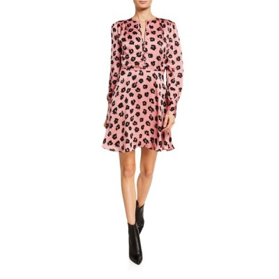 エキプモン レディース ワンピース トップス Danette Long-Sleeve A-Line Dress