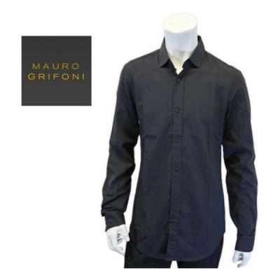 マウロ グリフォーニ MAURO GRIFONI メンズ 長袖 シャツ カッター ワイシャツ LONG SLEEVE SHIRT