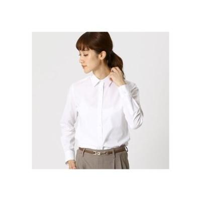 コムサイズム COMME CA ISM ベーシック ホワイトシャツ (ホワイト)