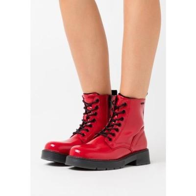 トム テイラー レディース 靴 シューズ Lace-up ankle boots - fire