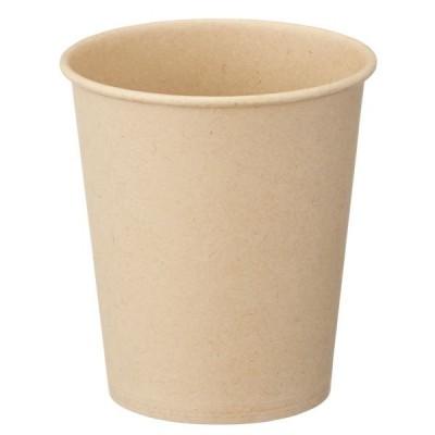 ファーストレイト 紙コップ 未晒しコップ150ml(5オンス) 1袋(100個)