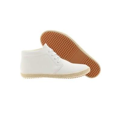 スニーカー メンズ ジェネリックサープラス  Generic Surplus Roped Chukka Leather (white) M01RC03WHT