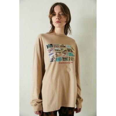 【マウジー/MOUSSY】 PHOTO COLLAGE LS Tシャツ