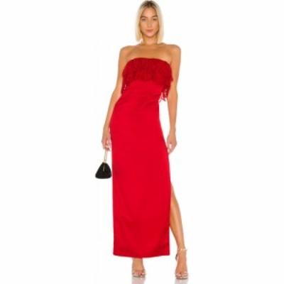 ラヴァーズフレンズ Lovers + Friends レディース パーティードレス ワンピース・ドレス Sylvia Gown Flame Scarlet