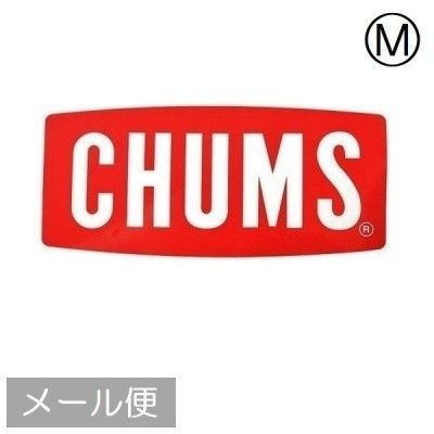 CHUMS チャムス Sticker CHUMS Logo Medium CH62-1071 日本製 ステッカー