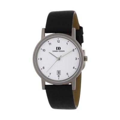 Danish Design Men's Quartz Watch 3316033 with Leather Strap 並行輸入品