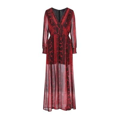 VANESSA SCOTT ロングワンピース&ドレス レッド M ポリエステル 100% ロングワンピース&ドレス