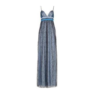 ビブロス BYBLOS ロングワンピース&ドレス スカイブルー 38 60% ナイロン 40% レーヨン ロングワンピース&ドレス